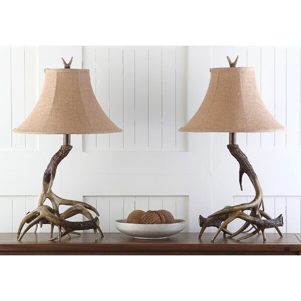 Sundance Antler 25 Table Lamp (Set of 2) by Safavieh
