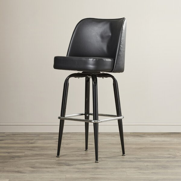 Marion 30 Swivel Bar Stool by Wade LoganMarion 30 Swivel Bar Stool by Wade Logan