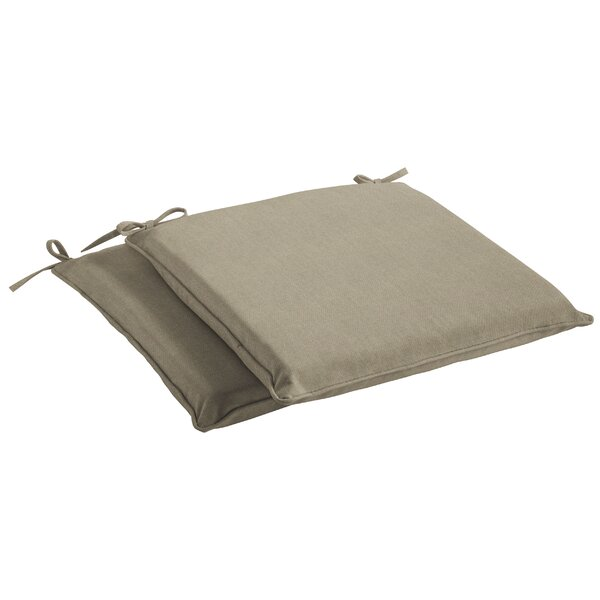 Indoor/Outdoor Sunbrella Dining Chair Cushion by Highland Dunes