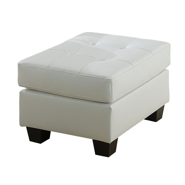 Spiers Upholstered Ottoman by Winston Porter