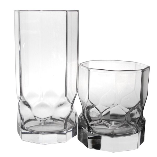 Topaz 16 Piece Tumbler Set by Luminarc