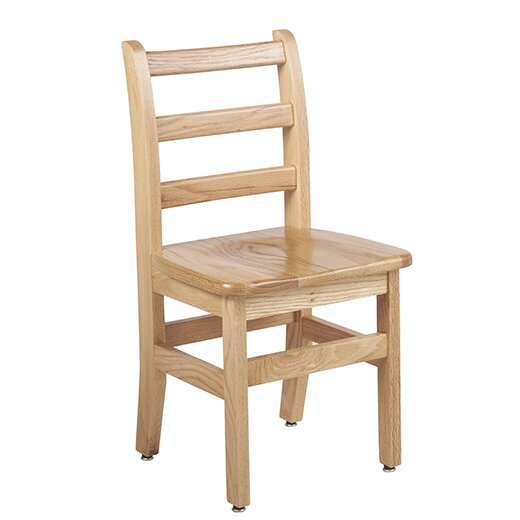 Solid Wood Classroom Chair (Set of 2) by ECR4kids