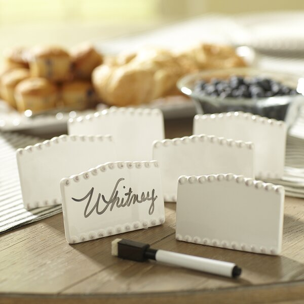 Milford Place Card Holders (Set of 6) by Birch Lane™