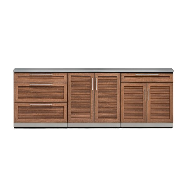 Kitchen 4 Piece Outdoor Bar Center by NewAge Products