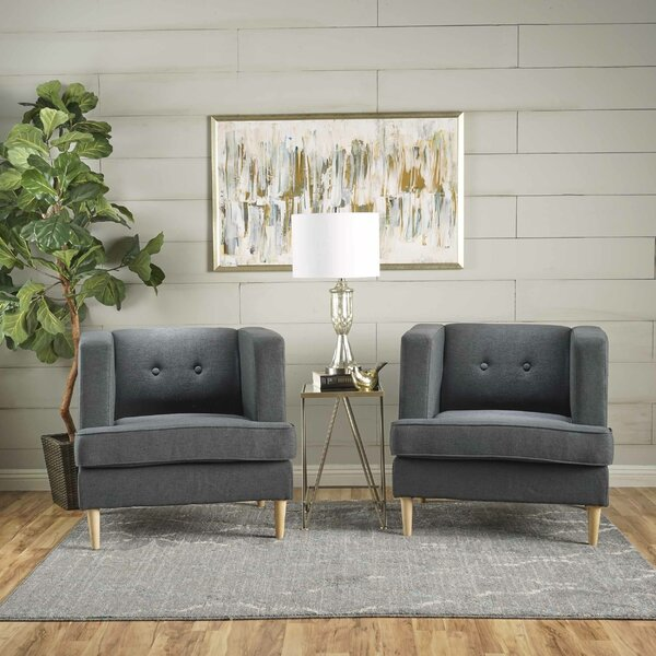 Burnham Armchair (Set of 2) by Ivy Bronx