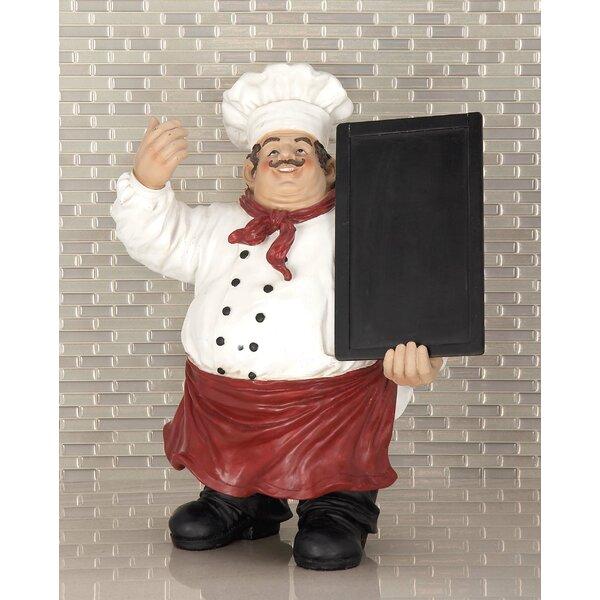 Chef Chalkboard by Fleur De Lis Living