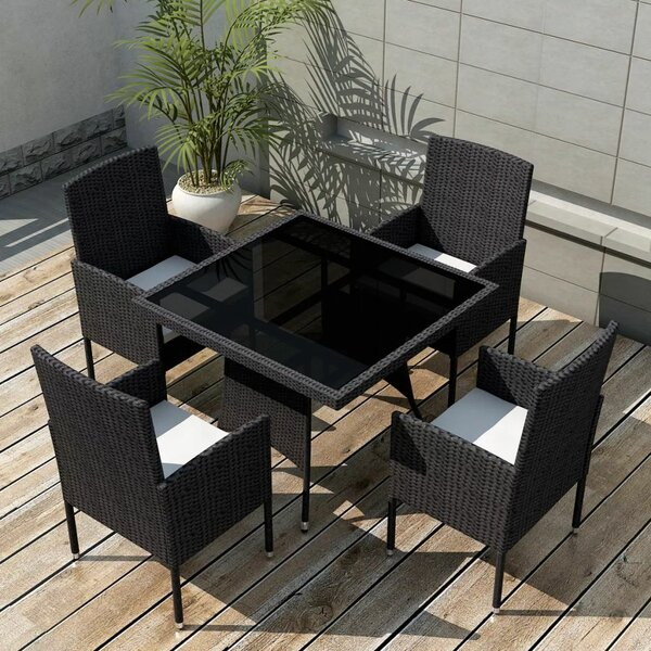 Alatorre 5 Piece Dining Set with Cushions by Brayden Studio