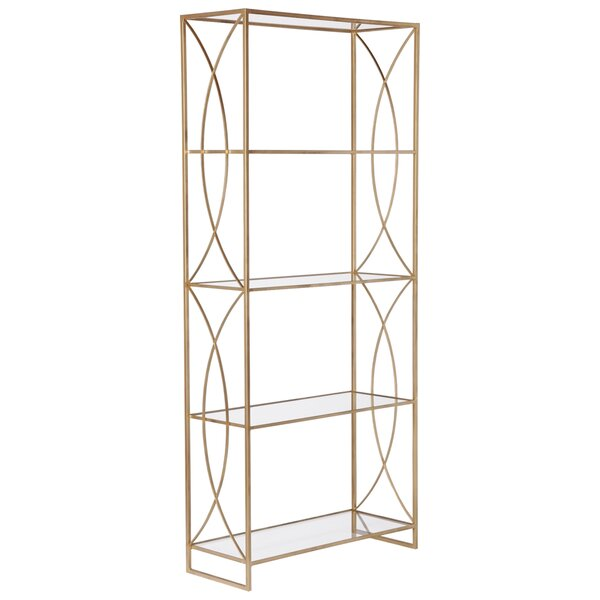 Gadbois Etagere Bookcase by Everly Quinn