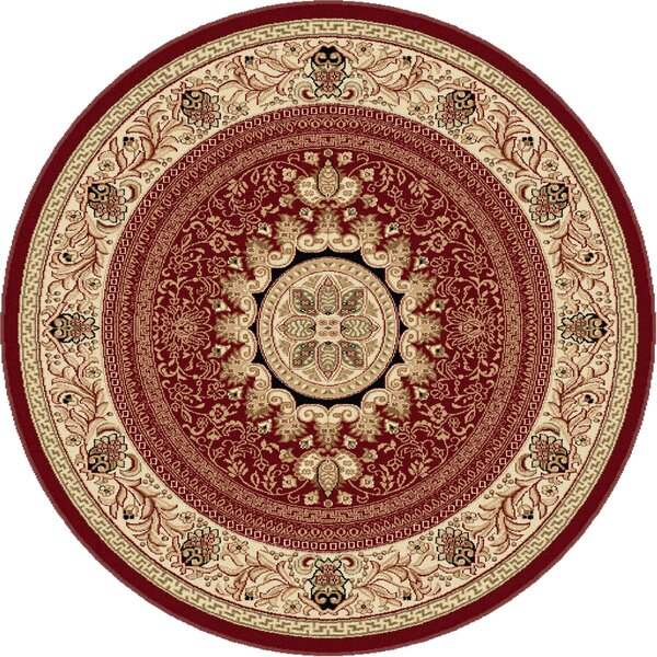 Clarence Red/Beige Area Rug by Astoria Grand