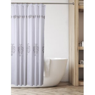 Looking for Maryville Decorative with Free Liner Shower Curtain (Set of 2) By House of Hampton