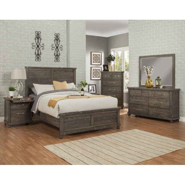 Rebekah Platform Solid Wood Configurable Bedroom Set by Gracie Oaks
