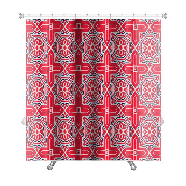 Simple Ethnic Pattern Abstract Kaleidoscope Premium Shower Curtain by Gear New