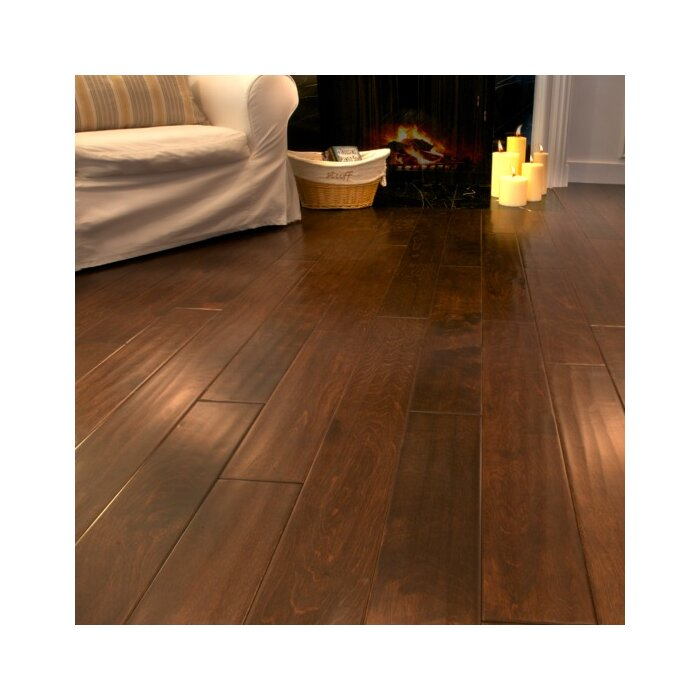 Serradon 5 X 48 2 7mm Laminate Flooring In Auburn Birch Reviews Wayfair