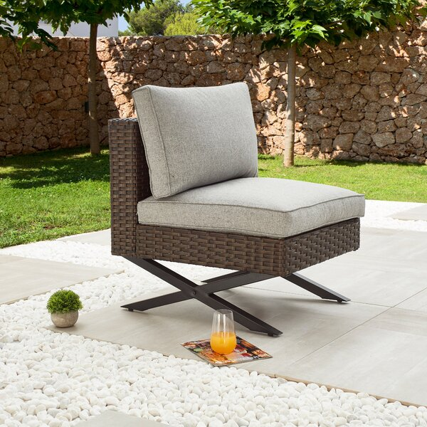 Rimersburg Patio Chair with Cushions by Latitude Run