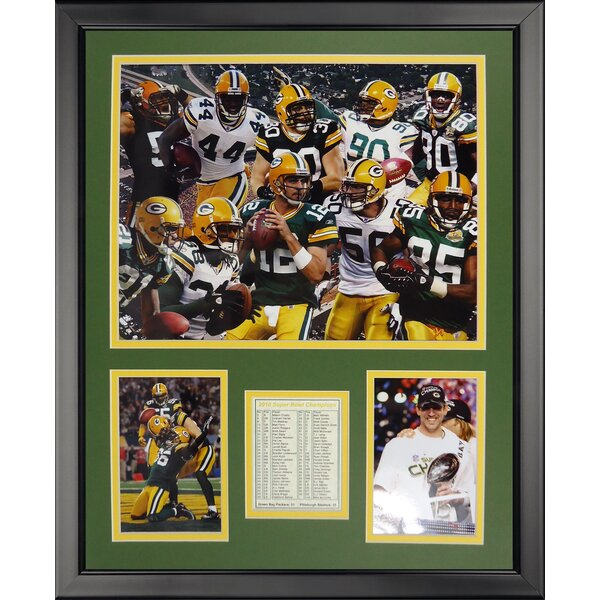 NFL Green Bay Packers - 2010 Champs Framed Memorabilia by Legends Never Die