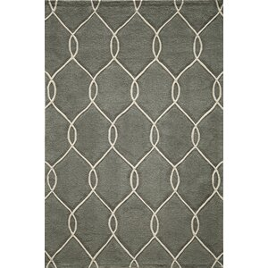 Bassett Hand-Tufted Steel Area Rug