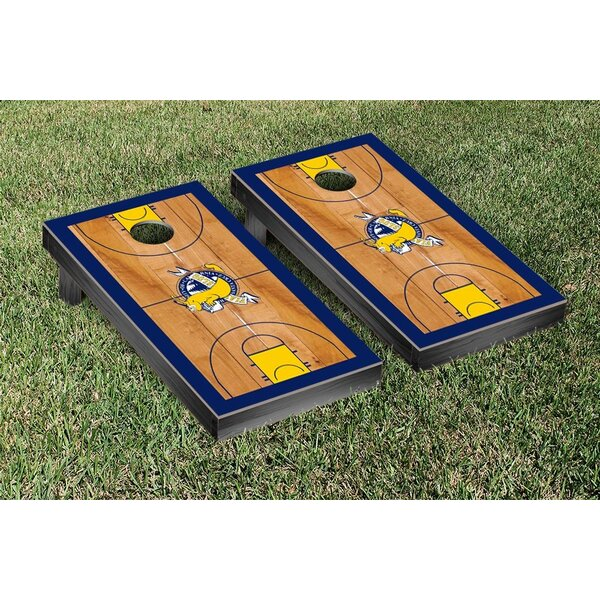 NCAA Basketball Version Cornhole Game Set by Victory Tailgate