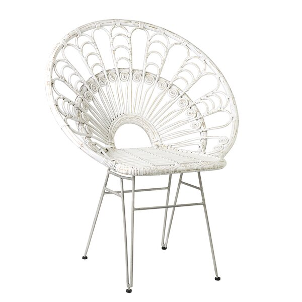Hadsell Papasan Chair by Bungalow Rose