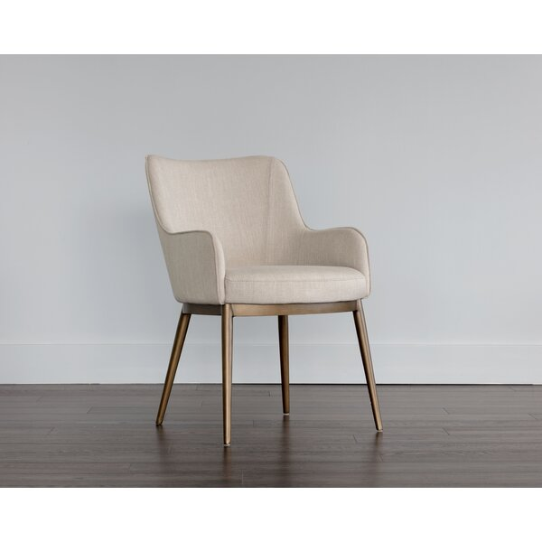 Irongate Upholstered Dining Chair by Sunpan Modern