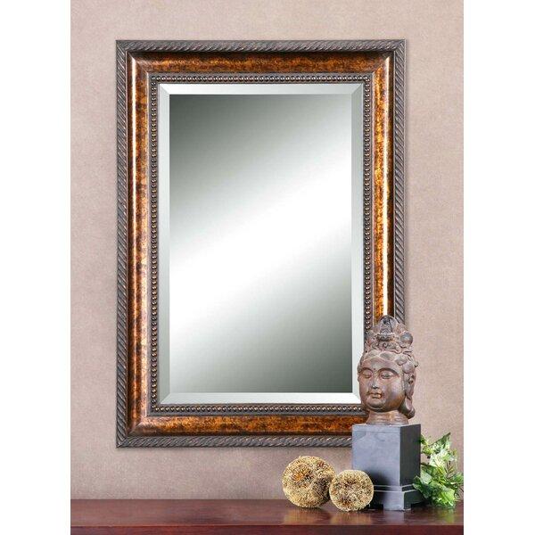 Geier Sinatra Framed Mirror by Astoria Grand