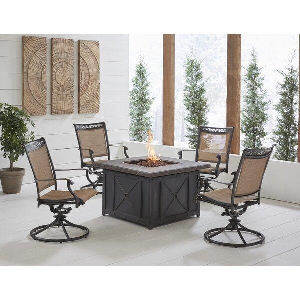 Bucher 5 Piece Multiple Chairs Seating Group by Fleur De Lis Living