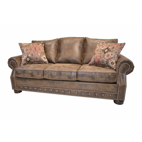 Special Recommended Spears Southwestern Sofa by Loon Peak by Loon Peak
