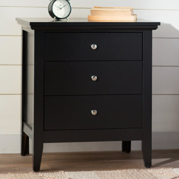 Lignite 3 Drawer Nightstand by Laurel Foundry Modern Farmhouse