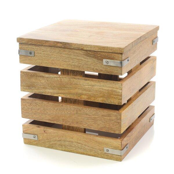 Nico Cube Decorative Box by Gracie Oaks