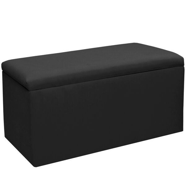 Woodstock Upholstered Flip Top Storage Bench by Alcott Hill