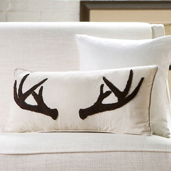 Stag Lumbar Pillow by Birch Lane™