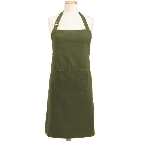 Sage Chino Chef Apron by Winston Porter