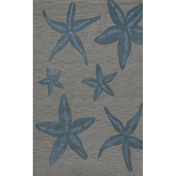Bella Gray/Blue Area Rug by Dalyn Rug Co.