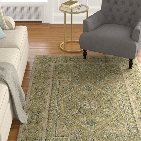 Eugene Hand-Tufted Green Area Rug by Astoria Grand