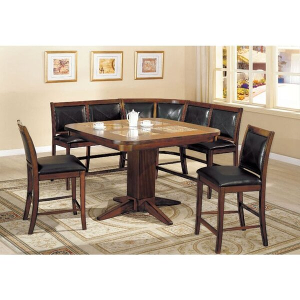 Scholten 6 Piece Pub Table Set by Millwood Pines