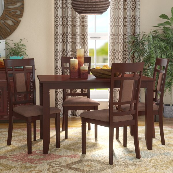 Ighli 5 Piece Dining Set by World Menagerie