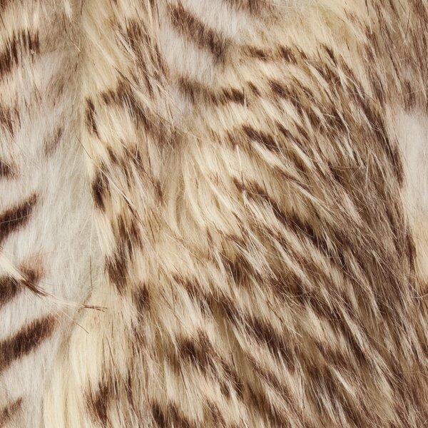 Redd Porcupine Luxury Faux Fur Throw by Everly Quinn