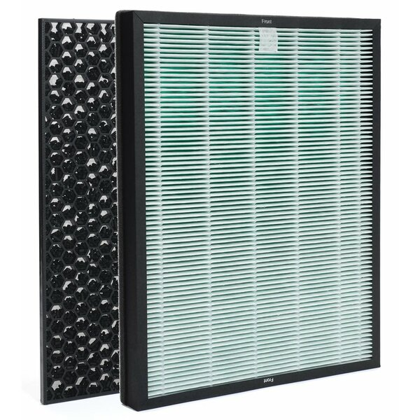 BioGS 2.0 Replacement 2 Piece Air Purifier Filter Set by Rabbit Air