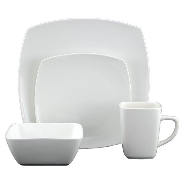 White Tie Casablanca 16 Piece Dinnerware Set by Tannex