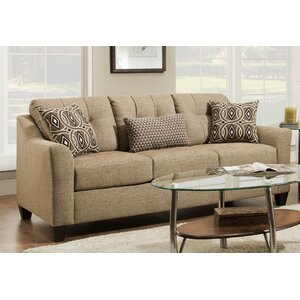 Simmons Upholstery Stirling Husk Hide-A-Bed Sleeper Sofa
