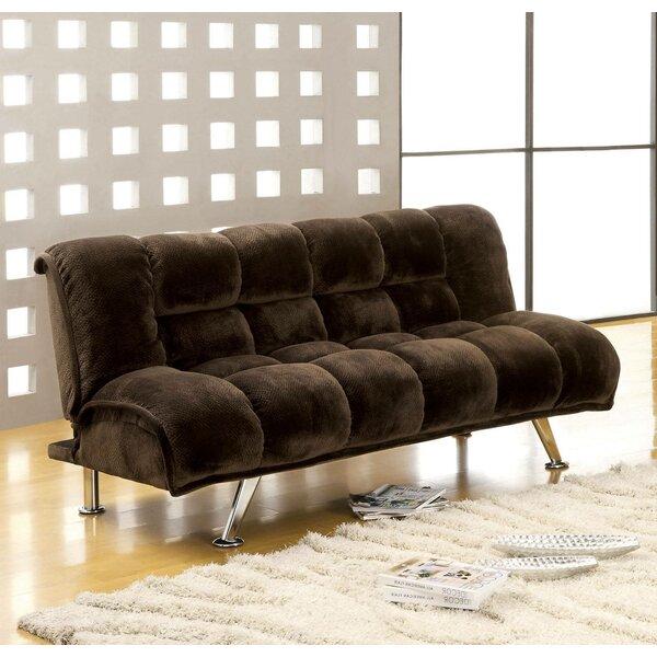 Lozko Twin Tufted Back Convertible Sofa By Latitude Run