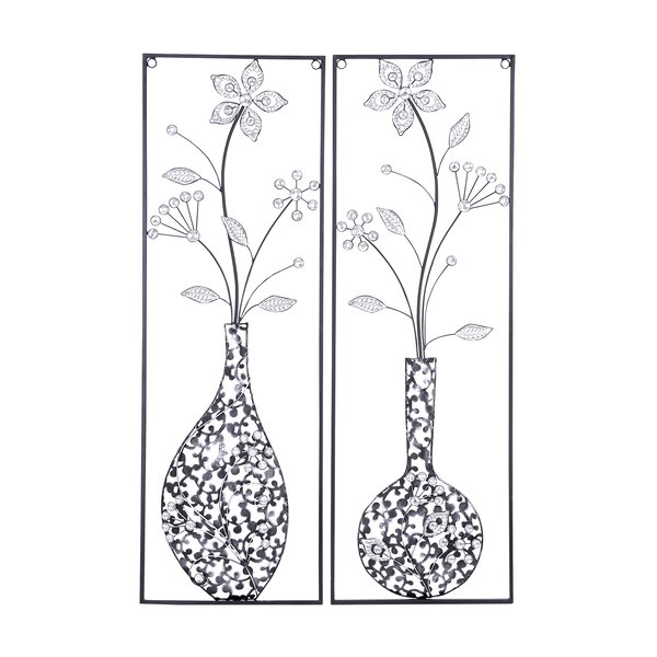 2 Piece Metal Wall Décor Set by Cole & Grey