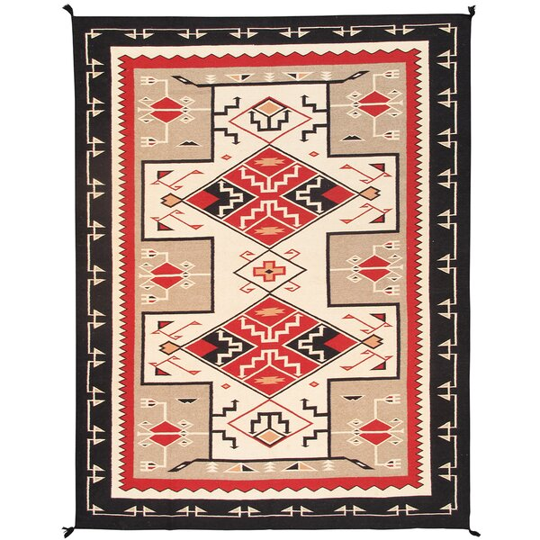 Kilim Hand-Woven Beige/Brown Area Rug by Pasargad