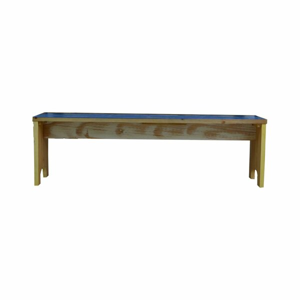 Chesler Reclaimed Wood Bench by Highland Dunes