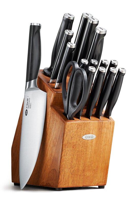 Good Kitchen Knife Set From Wayfair