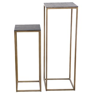 Read Reviews Bellino 2 Piece Plant Stand Set ByFoundry Select