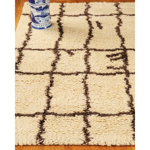 Hand-Woven Beige Area Rug by The Conestoga Trading Co.