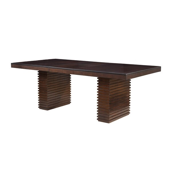 Modern Thermopolis Extendable Dining Table By Orren Ellis Sale