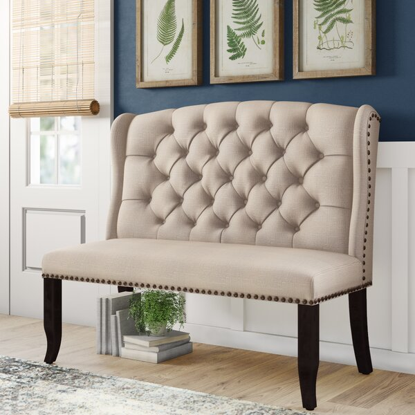 Calila Upholstered Bench by Birch Lane Heritage Birch Lane™ Heritage