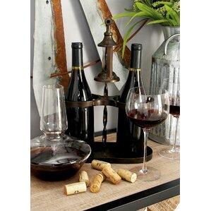 Metal 2 Bottle Tabletop Wine Bottle Rack by Cole & Grey