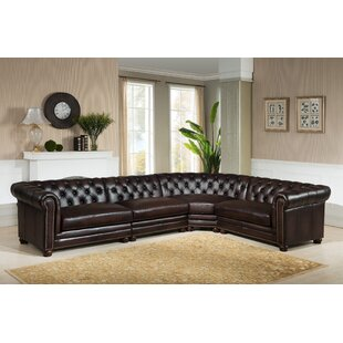 Bakersfield Leather Modular Sectional